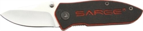Sarge-Knives-SK-112-Compact-G10-Folder-Knife-with-2-18-Inch-Stainless-Blade-with-Black-G10-and-Red-Underlay-Handle