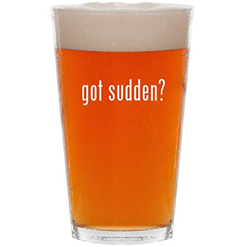 Price comparison product image got sudden - 16oz Pint Beer Glass