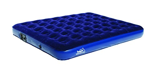 Texsport Deluxe Inflatable Airbed Mattress with Built In Battery Pump Twin or Queen Air Bed
