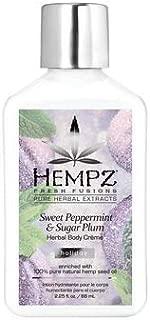product image for Hempz Triple Moisture Sweet Peppermint & Sugar Plum Body Creme - 2.25oz