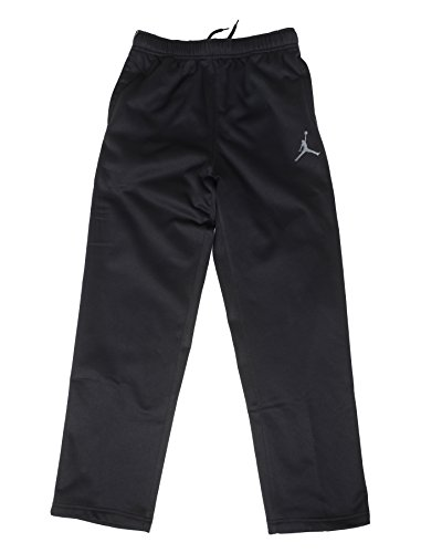 Jordan Big Boys (8-20) Therma-Fit Jumpman Track Pants-Black/Grey-Medium