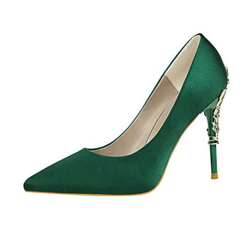 talons femmes verts aiguilles avec pour et Chaussures RfwxqZtWBA