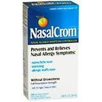 NasalCrom Nasal Allergy Symptom Controller | 200 Metered Sprays | .88 fl oz -  Nasal Crom, 01101