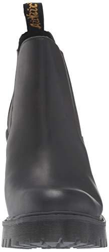 Chelsea Dr Hurston Martens 001 Donna Stivali black Nero pBU1xtBwq