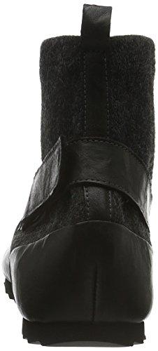 Think Nix, Zapatillas de Estar por Casa para Mujer Negro - negro (SZ/KOMBI 09)