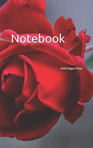 Notebook: rose blossom bloom plant flower flowers blooms roses red florist floristry