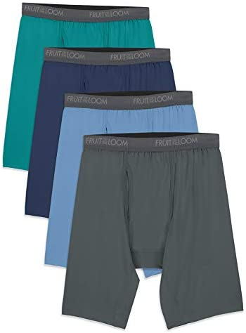 Fruit of the Loom Men's Lightweight Micro-Stretch Boxer Briefs – The Super Cheap