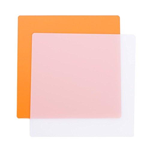 StudioPRO Filter Pack of Two for 600 LED Video Lighting Panel - Soft White & Amber by StudioPRO