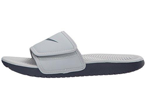 8f9eac0b15a7b8 nike kids kawa slide gs ps athletic sandal black white size 7 m us ...