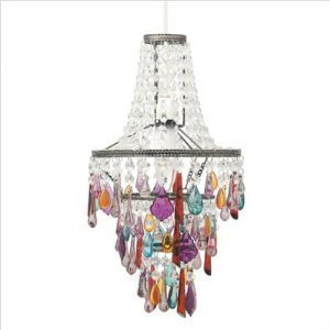 Aimbry shimmer chandelier colour multi coloured amazon aimbry shimmer chandelier colour multi coloured aloadofball Images