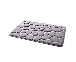 Simple Cobblestone Kitchen Bathroom With Bedroom Waterproof Mat