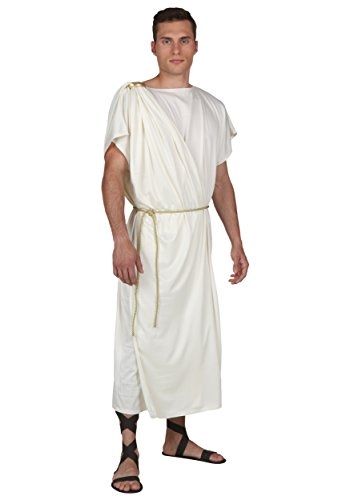 Toga Costume for Men Large White