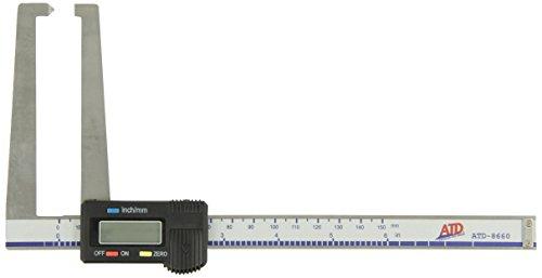 ATD Tools 8660 Electronic Digital Rotor (Brake Rotor Micrometer)
