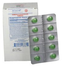 Ferrous Gluconate 100s(similar to Feosol) Blister Packed (Best Over The Counter Iron Supplements For Anemia)