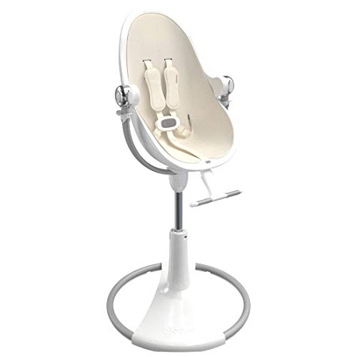 Bloom Fresco Solo Contemporary Baby Chair - 0-8 Years (White White)