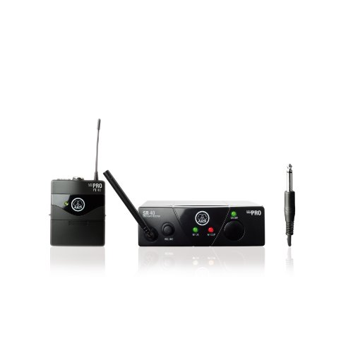 AKG WMS40 Mini Instrumental Set Wireless Microphone System Band US45A (Akg Instrument Set)