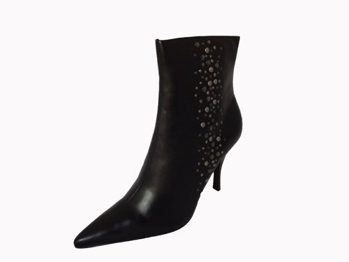 Alfani Dames Disco-boot Zwart