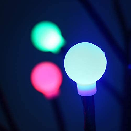 Amazon.com: Luces solares para exteriores – Árbol de ...