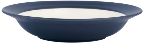 Noritake Colorwave Rim Soup/Pasta Bowl, Set of 4, Blue