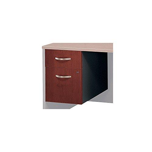 Bush Business Furniture Series C Collection 3/4 Pedestal in Hansen Cherry
