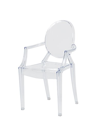 CSP Events RPC-Ghost-Baby-Arms Children's Ghost chair with Arms, 25' Height, 12.5' Width, 12.5' Length