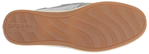 Sparkle Top Shoe Sider Sperry Boat Koifish Women's Grey Crosshatch IqxqwUd