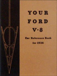 1936 Ford Car V-8 Owners Manual 36