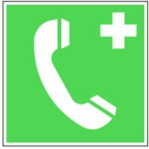 0215. Notruftelefon, E007 - Kunststoff.