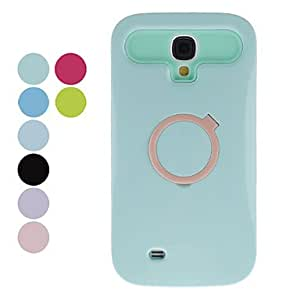 Ring Design Hard Case for Samsung Galaxy S4 I9500 (Assorted Colors) , Blue