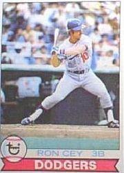 1979 Topps Baseball Card #190 Ron Cey Near Mint