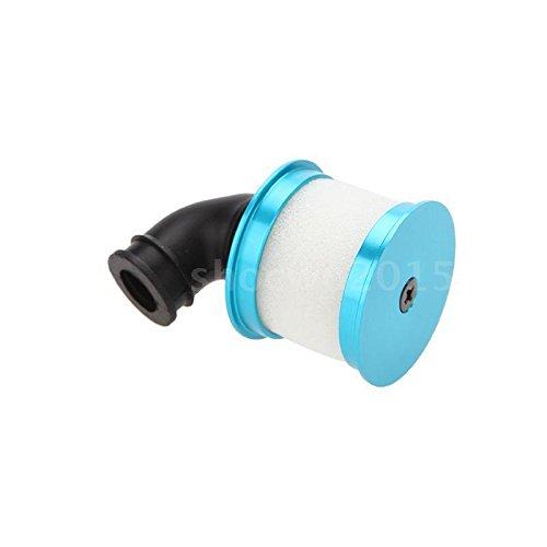 Sangdo 04014 Upgrade Parts Blue Alum Capped Air Filter Cover for HSP RC Nitro Car 16DU