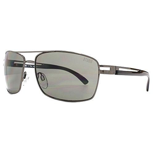 STORM Clotho Sunglasses in Gunmetal 9ST509-1 One Size Grey Gunmetal
