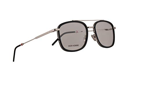 Christian Dior Homme Dior0229 Eyeglasses 53-19-150 Black Palladium w/Demo Clear Lens CSA 0229