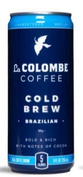 La Colombe Coffee Roasters Cold Brew Brazilian (Pack of 8) by
