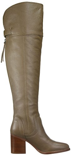 Wide Ollie Sarto Women's Dover Franco Boot Knee Calf The Taupe Over gqtPp