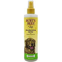 Burt's Bees for Dogs Deodorizing Spray with Apple and Rosemary | Dog and Puppy Deodorizing Spray, 10 Ounces