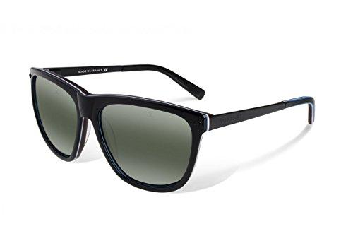 Vuarnet VL1314 0002 1136 sunglasses SX 3000 Grey Glass Lens, Black Legend - Vaurnet Sunglasses