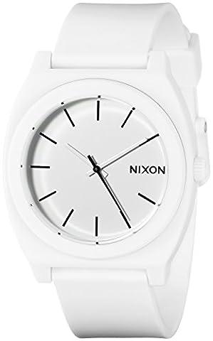 Nixon Women's A1191030 Time Teller P White Watch (Sport Watches Womens White)