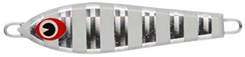 アムズデザイン(ima) メタルジグ ルアー 市松40 #IM40-009 ボーダーグロー 046446の商品画像