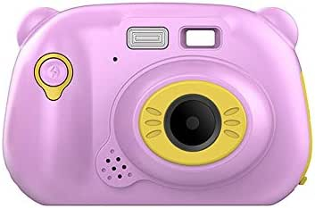 ChenyanAwesom Kids Digital Camera Children's Camera 1200w Front and Rear Double Lens Food and Material Anti-Fall WiFi Camera Shockproof Kids Camera (Color : Pink, Size : One Size)