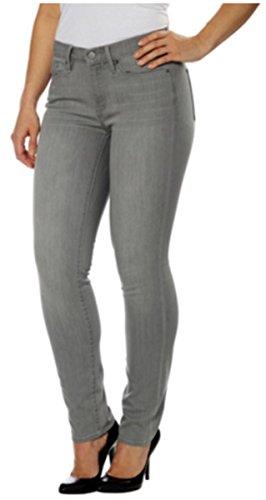 Calvin Klein Women's Ultimate Skinny Corduroy Jeans Grey, 8X32