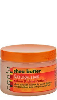 Cantu Shea Butter for Natural Hair Curling Custard 12oz by N/A