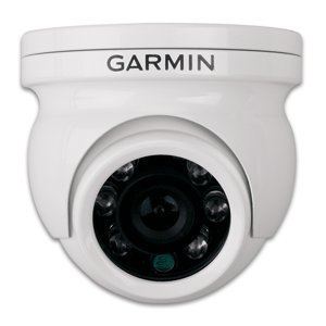 Garmin GC10 NTSC Reverse Image Marine Video Camera w/Infrared (Garmin Domes)