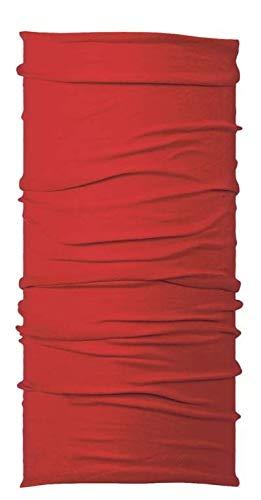 Original Multifunctional Headwear (One Size, Rojo)