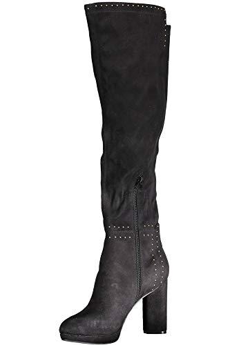 Jeans Stivale Calzatura Black Donna Flprs4esu11 Guess Nero dT0f4d