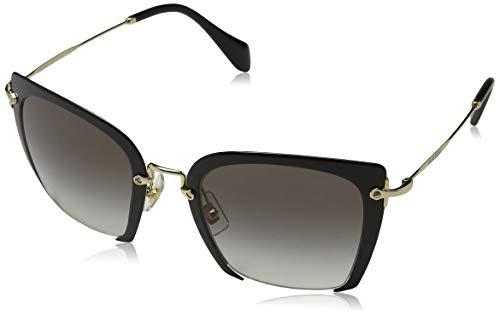Miu Miu Women's 0MU 52RS Black/Grey Gradient (Miu Miu Sunglasses)