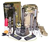 Military Grade Multi-function Survival and Emergency Shovel with pouch