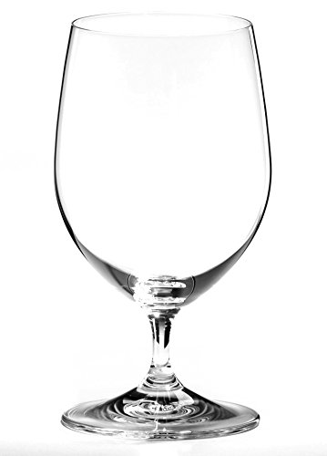 Riedel Vinum Lead-Free Fine Crystal Water Glass, Set of 4 (Water Riedel)