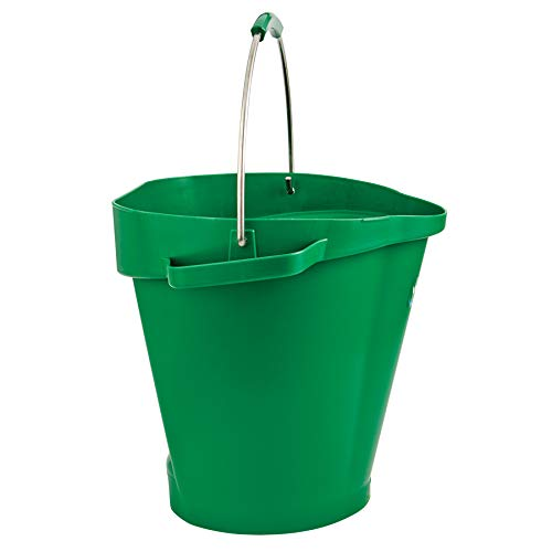 Vikan Polypropylene Green 5 Gallon Pail