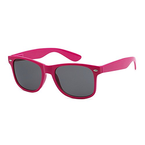 I's Colour Retro Rewind Women Men Wayfarer Classic Fashion Party Wedding Sunglasses (Hot Pink Sunglasses, - Hot Sunglasses Sale